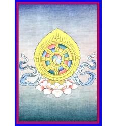 La roue - Dharmachakra