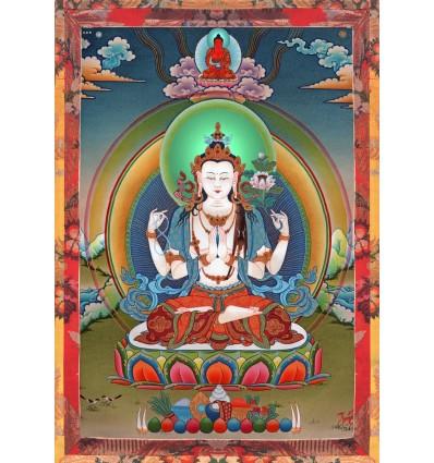 Avalokiteshvara 4 bras