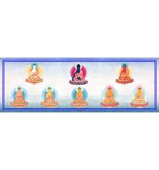 Les huit Bouddhas de médecine