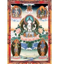 Avalokiteshvara a 4 bras