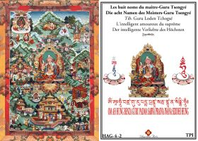 Les huit noms du maitre Gourou Tsengye L'intelligent amoureux du supreme