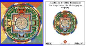 Bouddha de medecine - Sangye menla