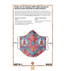 Masque de protection AMITHABA