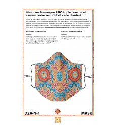 Protection's mask DZAMBALA