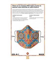 Masque de protection GESAR DE LING