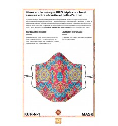 Masque de protection KURUKULLE