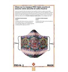 Masque de protection PROTECTEURS Dorje Bernagchen