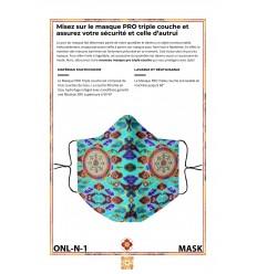 Masque de protection BHAISHAJYA GURU BOUDDHA