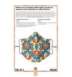 Protection's mask WHITE TARA