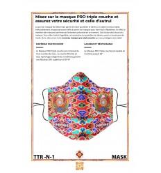 Masque de protection LE GRAND ROUGE SHRI GANAPATI