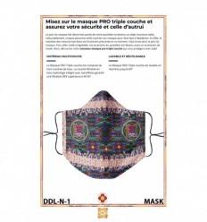 Masque de protection Le diamant pansu