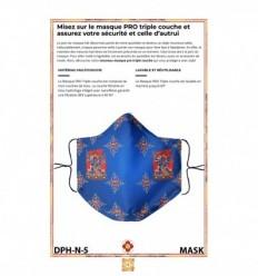 Masque de protection Vajrakilaya