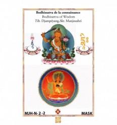 Masque de protection Manjushri