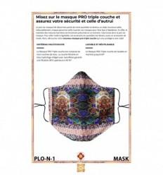Masque de protection Mahakala & Mahakali
