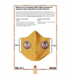 Masque de protection Tara Blanche