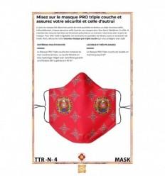 Le grand rouge Shri Ganapati