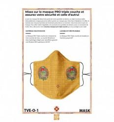 Masque de protection Tara verte