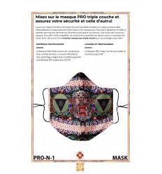 Protection's mask PROTECTOR Mahakala Tchadroukpa