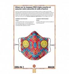 Masque de protection Druka Kagyu