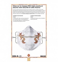 Masque de protection GRAPHIQUE