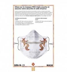 Masque de protection GRAPHIQUE