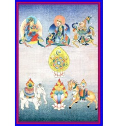 Les sept trésors du pouvoir royal - Saptaratna