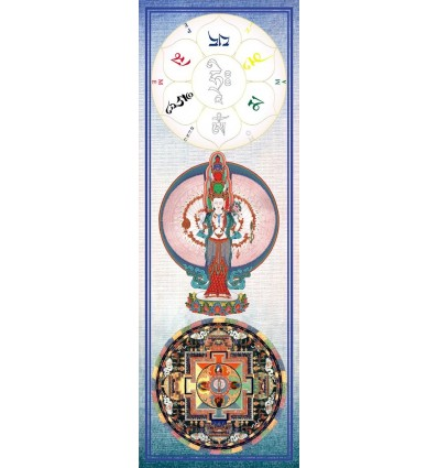 Avalokitesvara a 1000 bras