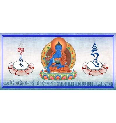 Bpuddha - médecine - Bhaishaya guru buddha