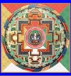 Tchenrezi à 4 bras - Avalokiteshvara