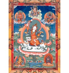 Dharma Protector Tséringma Tashi and the five Dzambala Families