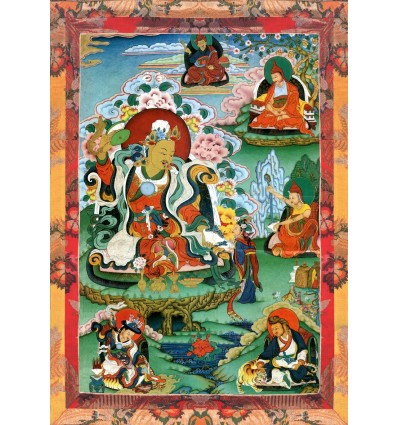 The eight names of the Master Guru Tsengue The Lion of Sakya