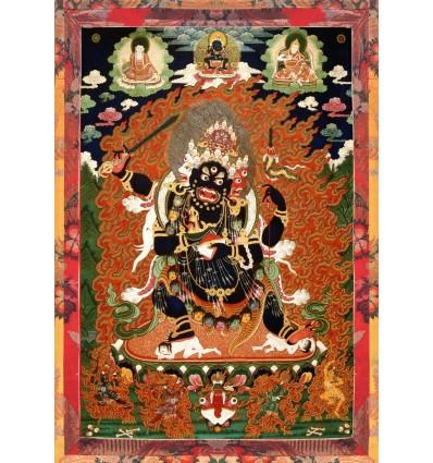 Dharma Protector 4 faced Mahakala