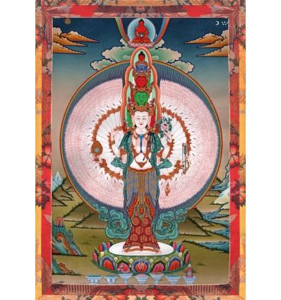 Avalokiteshvara  1000 bras