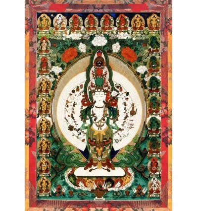 Avalokiteshvara  1000 arms