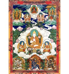 Je Tsongkapa and the mantra of Manjoushri
