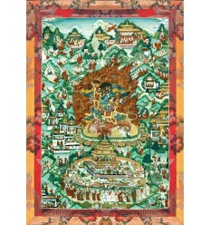 Les huit noms du maitre Gourou Tsengye Le diamant pansu