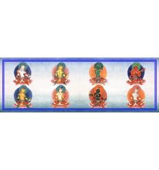 Eight female bodhisattvas