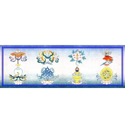 Les huit symboles favorables