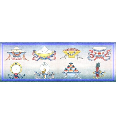 The eight auspicious objects