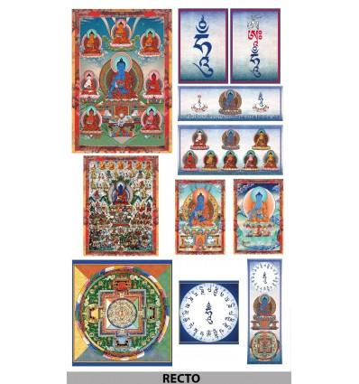 Complete Kit Sangye Menla , Medicine Buddha