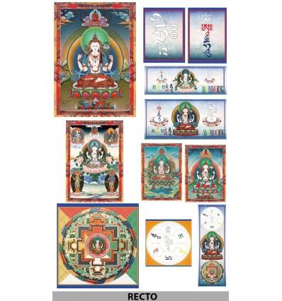 Kit Chenrezi Cha Shipa, Buddha of compassion