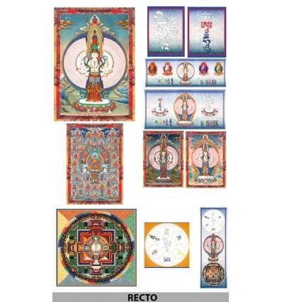 Kit Chenrezi 1000 arms, Buddha of compassion