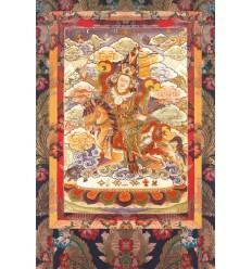 Gesar de ling Manifestation de Rinpoche pour dompter les negativites du monde