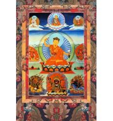 Le 2eme Karmapa Karmapakshi syllabes germes
