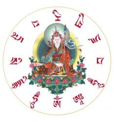 10 adhésifs Guru Rinpoche