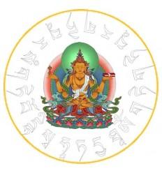 10 adhésifs Prajna Paramita