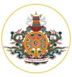 10 adhésifs Logo Drukpa Kagyu