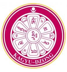 10 Adhésif Logo Kagyu Dzong