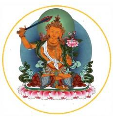 10 adhésifs Manjushri