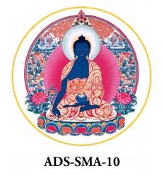 10 adhésifs Sangye Menla
